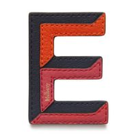 tri-colour-leather-sticker---e