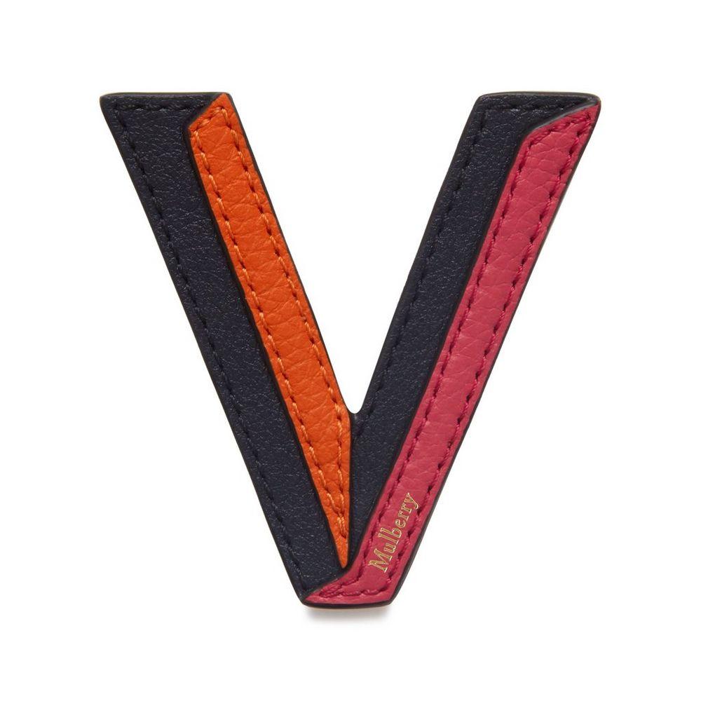 tri-colour-leather-sticker---v