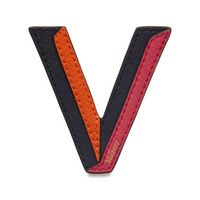 tri-colour-leather-sticker---v
