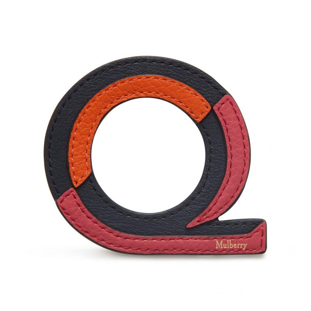 tri-colour-leather-sticker---q