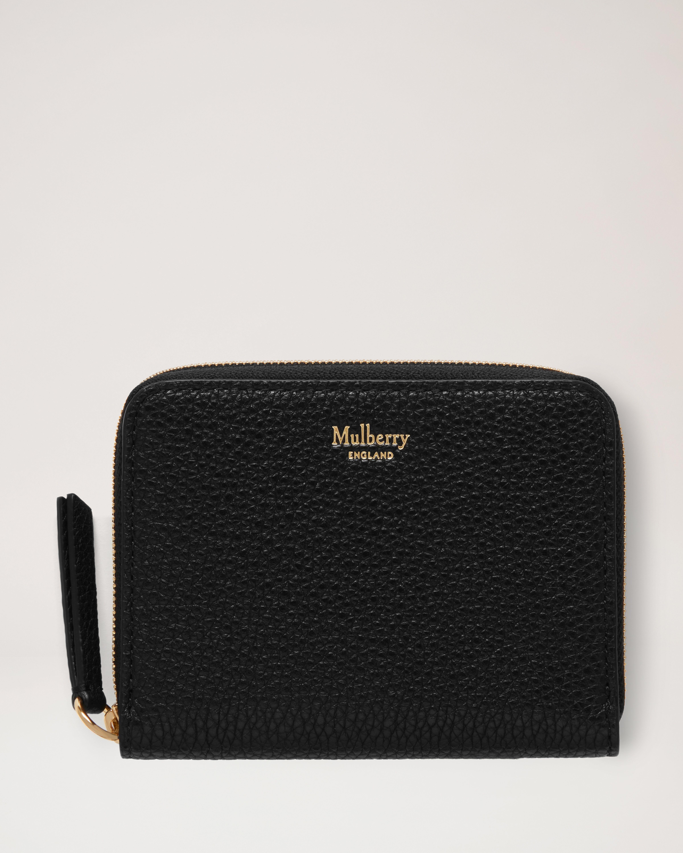 small zip around wallet - Black Coach