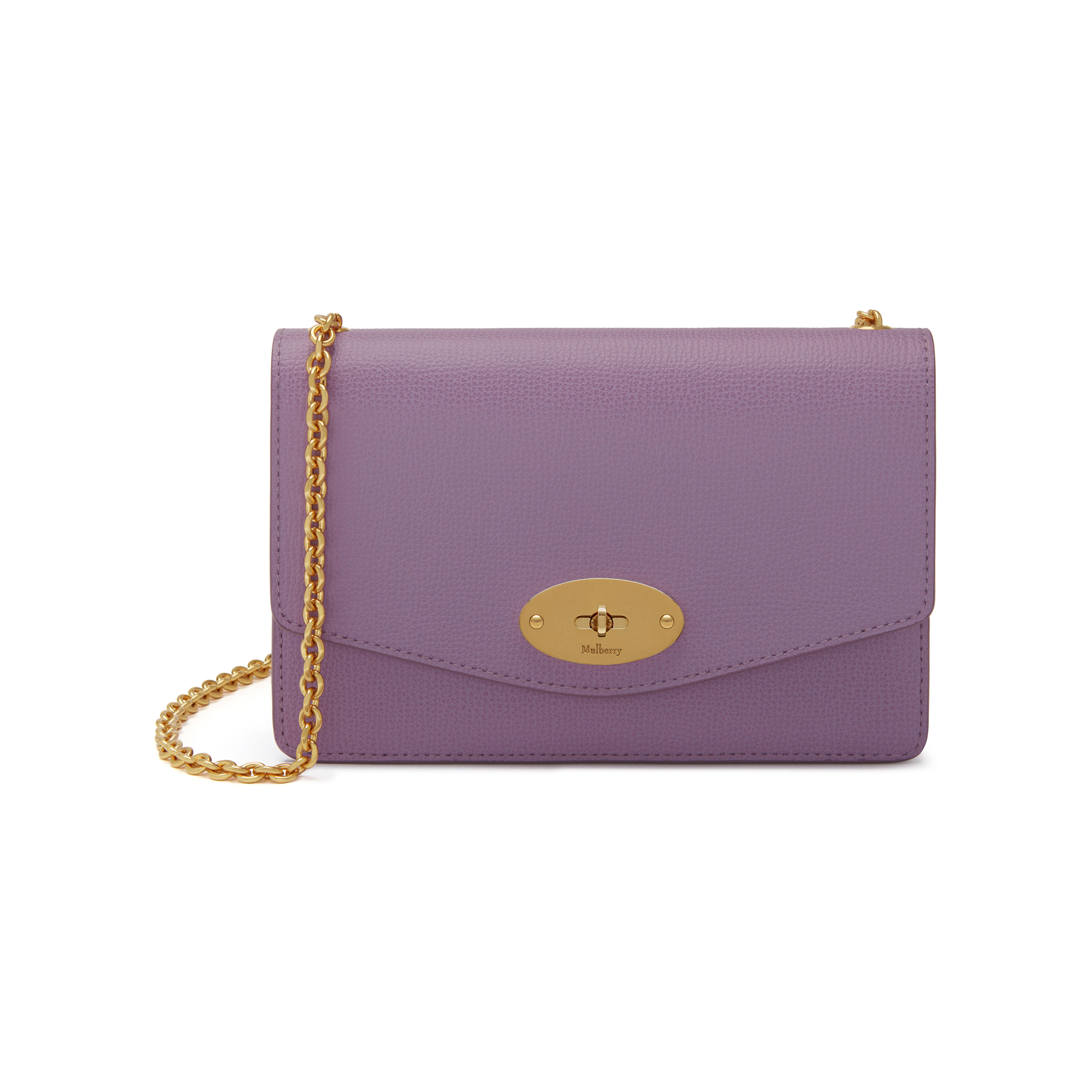 Mulberry Darley lilac leather small clutch JLhm6ah1p