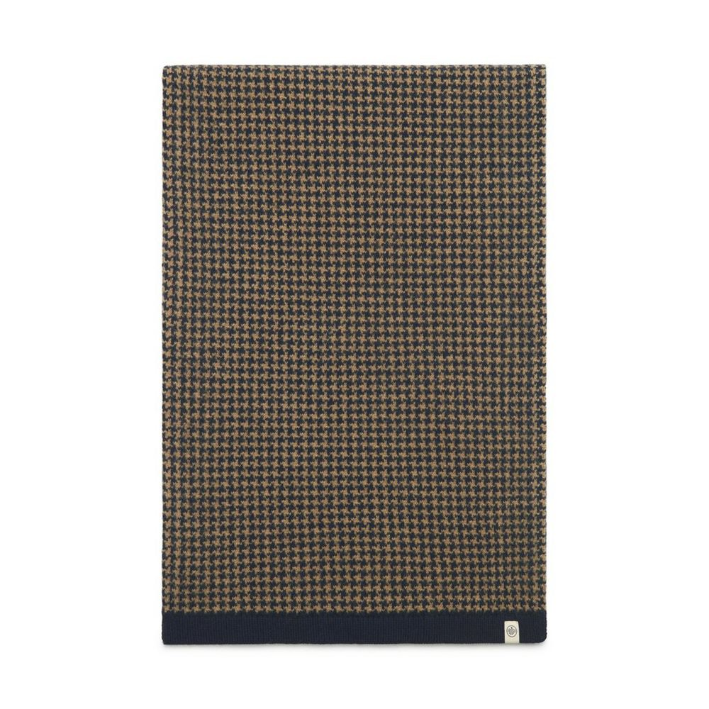 houndstooth-knitted-scarf