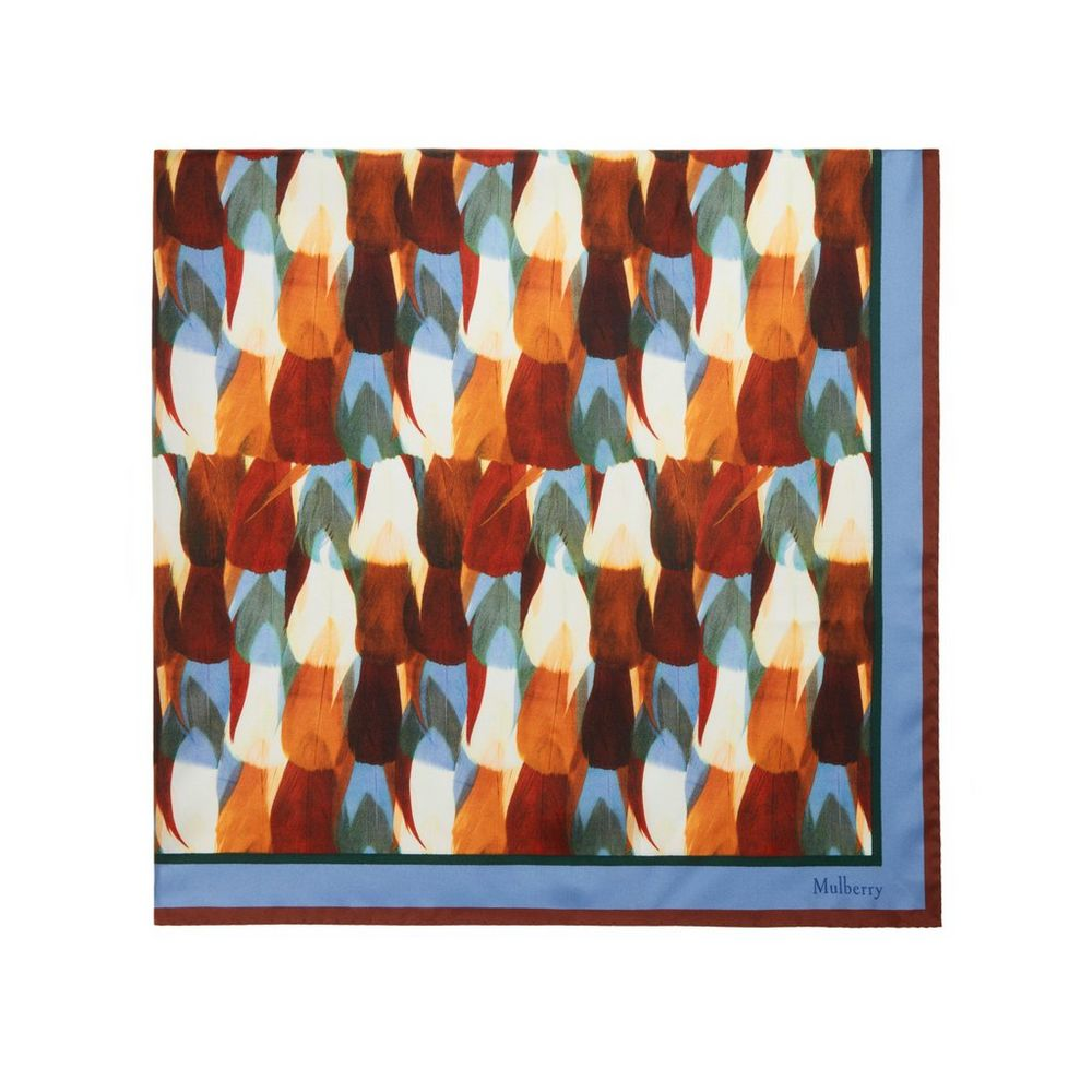 all-over-feather-print-square