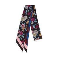 floral-&-check-bag-scarf